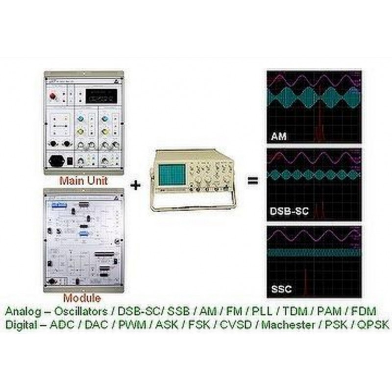 KL-900A Basic Communication System for Analog & Digital