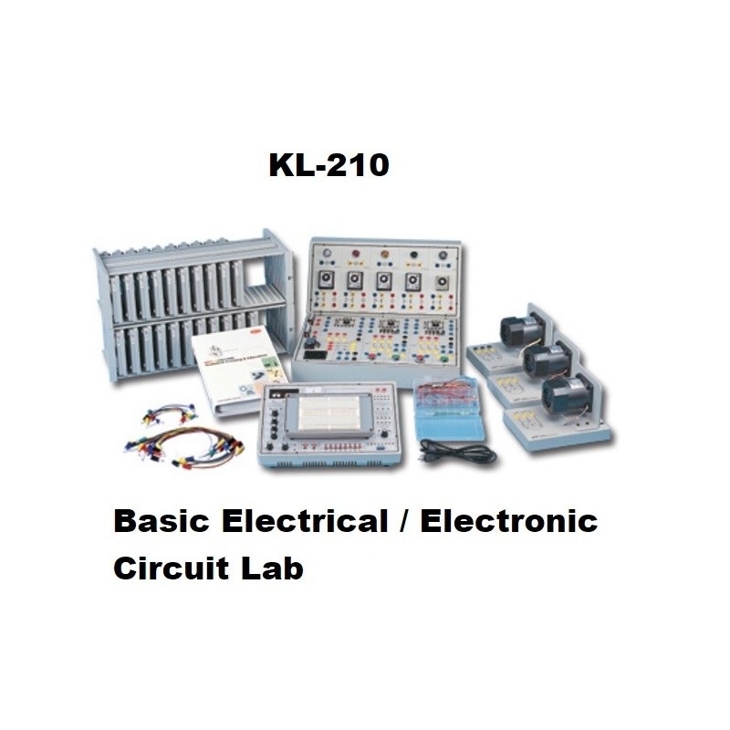 Ac Circuit Experiment Box Electrical Training Equipment Basic