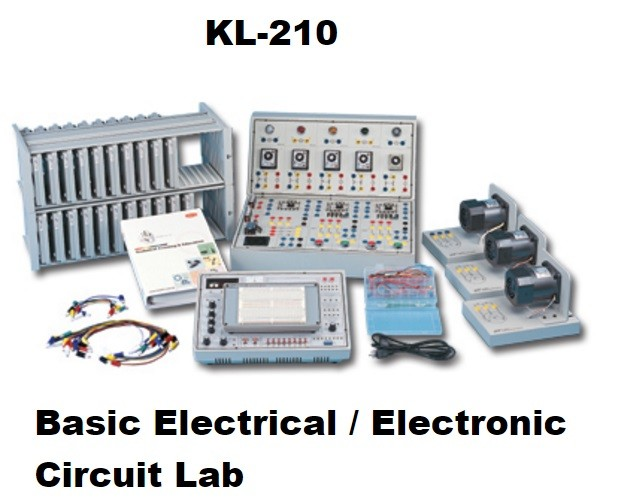 KL-210 Basic Electrical / Electronic Circuit Lab - Maranata-Madrid ...