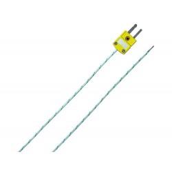 TPK/E Thermocouples Type K with TE Mini-Connector (-40...+400°C)