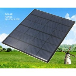 AO-SP-6V/3.5W Mini Photovoltaic Solar Panel 6V - 3.5W