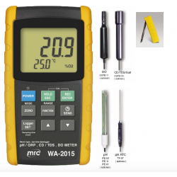 WA-2015 Ph / Conductivity /Temp. /Oxijen meter complete kit
