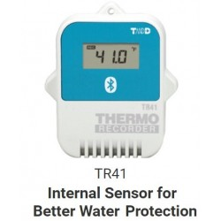 TR41 SERIES Bluetooth Data Logger with internal Temp. Sensor (App Generates TR4 pdf Reports)
