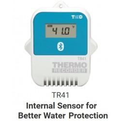 TR41 SERIES Registrador de Datos Bluetooth con Sensor Interno de Temp. (la App TR4 genera informes PDF)