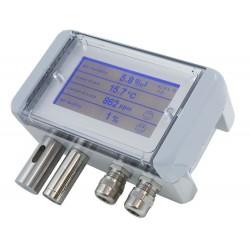 AO-CO2-M/A Sensor de Calidad de Aire de Múltiples Funciones (CO2, VOC, etc.), con display
