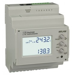MRJ4M - easywire Multifunction DIN Rail Meter - Pulse, RS485/Modbus