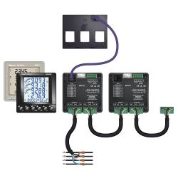 """TAS240-EW Transformador de Corriente Trifásico """"Plug and Play"""" Easywire"""