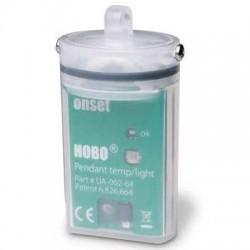 Pendente econômico do registrador de dados HOBO submerso para a temperatura / luz