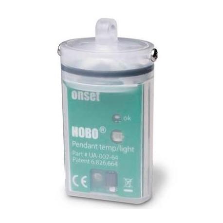 Registrador de Datos Economico HOBO Pendant Sumergible para Temperatura/Luz