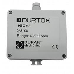 DURTOX Detector de Gás Tóxico e Oxigênio com saída 4-20 mA