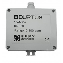 DURTOX Detector de Gases Tóxicos y Oxígeno con salida 4-20 mA