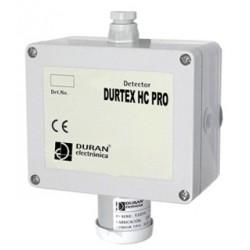 DETECTOR DURTEX HC 4-20 mA PRO para detecção de gás explosivo