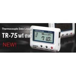 TR-75wf/nw Registrador de temperatura para Termopar