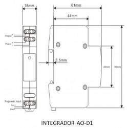 AOD1 DIN-RAIL Integrator
