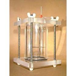 Celda Cilíndrica Plana para muestras con recubrimiento