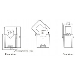 AO-SCT010T-D  DC output split core current transformer