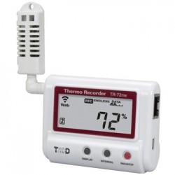 TR-72NW Registrador de humedad y temperatura Ethernet / LAN