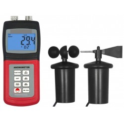 AO-4836AM Medidor de Velocidade e Direção de Vento Portátil