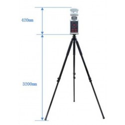 Mini Portable Weather Station with Display and tripod AO-WDS63E