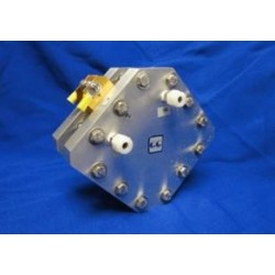 EC-EL-50-REF Electrolyzer Hardware with built-in reference electrode - without MEA (50 cm2)