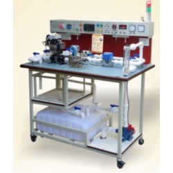 Scientech2474 Flow Measuring Workbench Setup