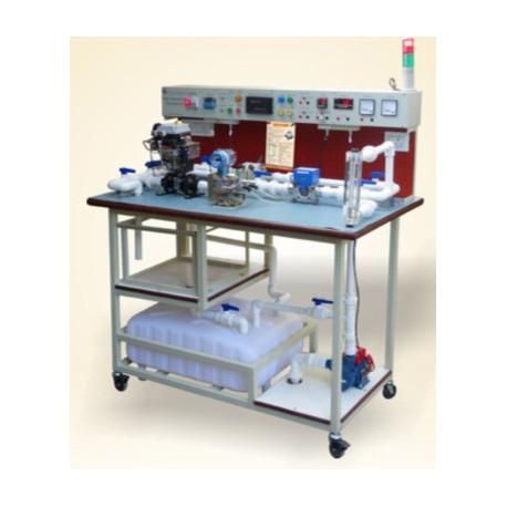 Scientech2474 Configuración del banco de trabajo de medición de flujo