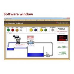 Scientech2474 Flow Measuring Workbench Setup