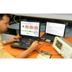 Scientech2452 TechBook para Compensación de Retardo y Adelanto de señales en Redes