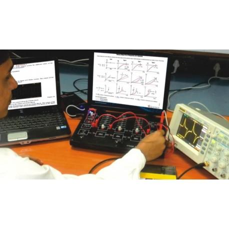 Scientech2454 Simulador de sistema de control