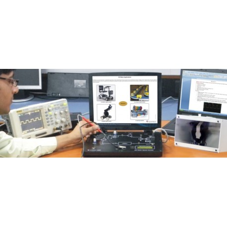 Scientech2457 DC Motor Speed Control