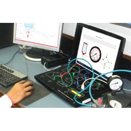 Scientech2308 TechBook para Explorador de la Presión del Transductor