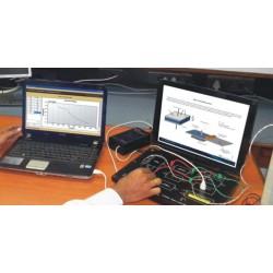 Scientech2309 Techbook para o Nível de água instrutor Medição