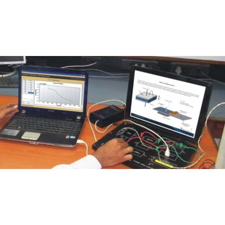 Scientech2309 TechBook para Entrenador de Medición del Nivel del Agua