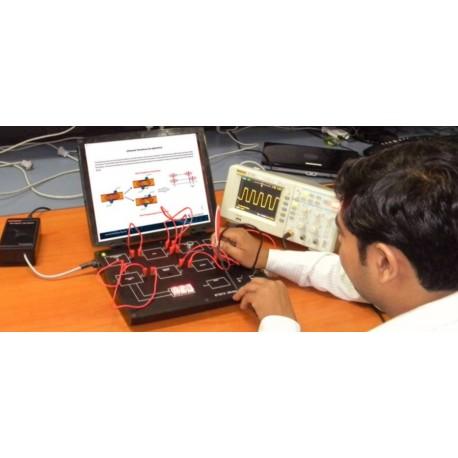 Scientech2312 TechBook para Entrenador de Transductor Ultrasónico