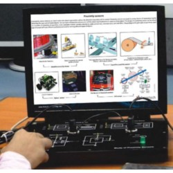 Scientech2313 TechBook for Proximity Sensor Studio