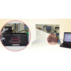 Scientech2421 Water Level Control by PLC