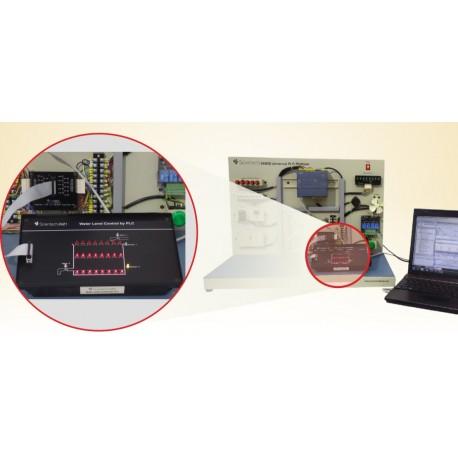 Scientech2421 Control de nivel de agua por PLC