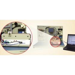 Scientech2425 Controle do transportador por PLC
