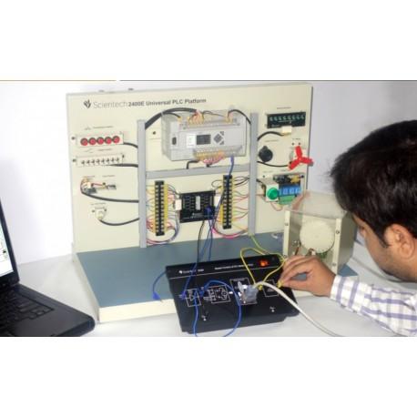 Scientech2426 Control de Velocidad de Motor por PLC