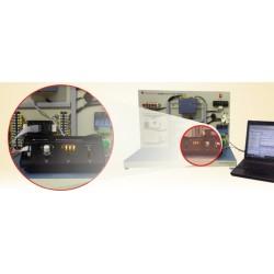 Scientech2427 Controle do motor e do comutador por PLC