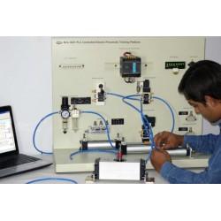 Nvis 3021 Plataforma de Entrenamiento Electro Neumática Controlada por PLC