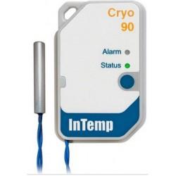 CX702 Registrador Criogénico InTemp - Registrador de Datos de un solo uso