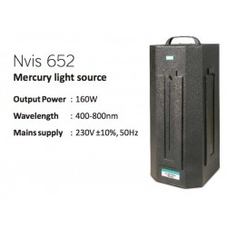 Nvis 652 Fuente de Luz de Mercurio