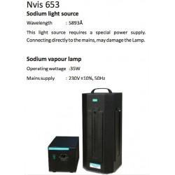 Nvis 653 Fuente de Luz de Sodio