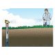 Data Logger Bluetooth para Agua Dulce (Nivel de Agua y Temperatura) MX2001
