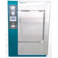 LHA-F10 Autoclave Horizontal para Laboratório de Um Toque e Porta Simples (250 L/ 134 °C)