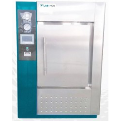LHA-F16 Autoclave Horizontal para Laboratório de Um Toque e Porta Simples (2000 L/ 134 °C)