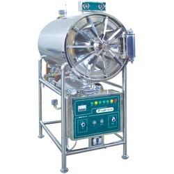 LHA-G10 Autoclave Horizontal para Laboratorio Cilíndrico (150 L/ 134 °C)