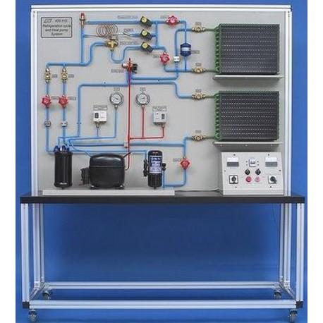 Sistema de Ciclo de Refrigeración y Bomba de Calor