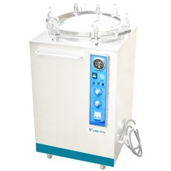 LVA-A10 Vertical Laboratory Autoclave with Top Load (35 L/ 115-129 °C)